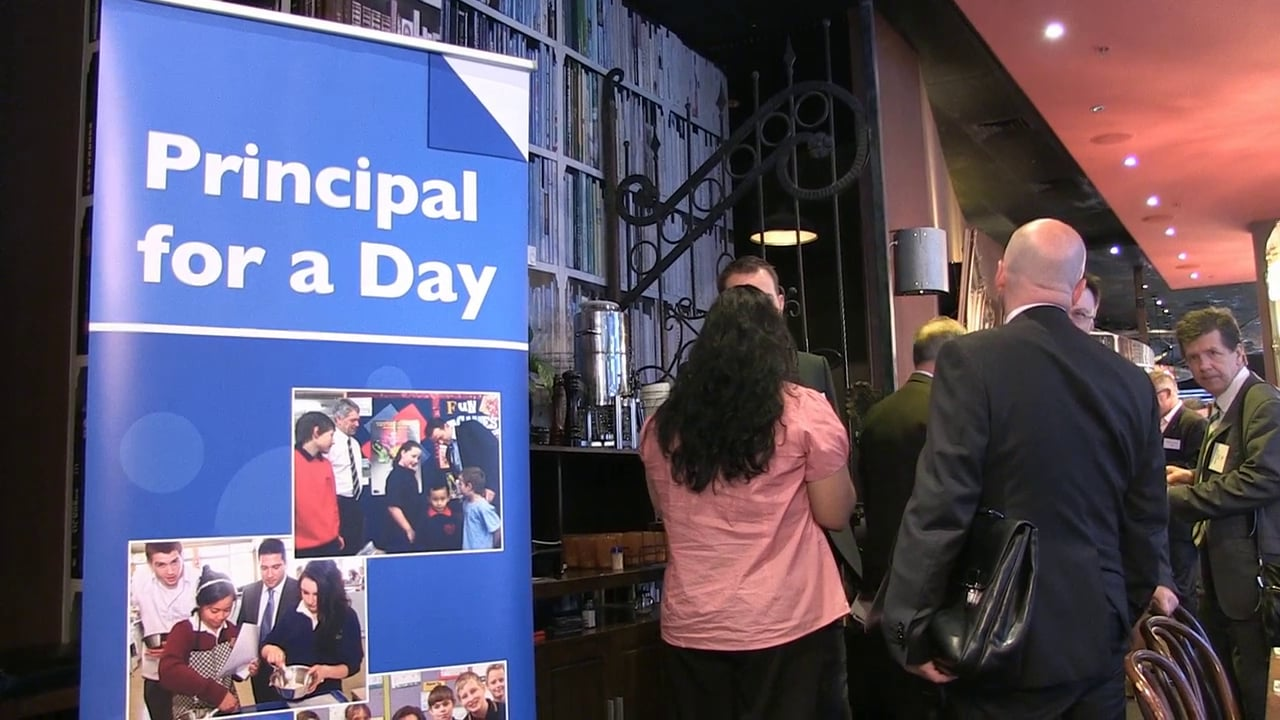 Forum – Principal for a Day