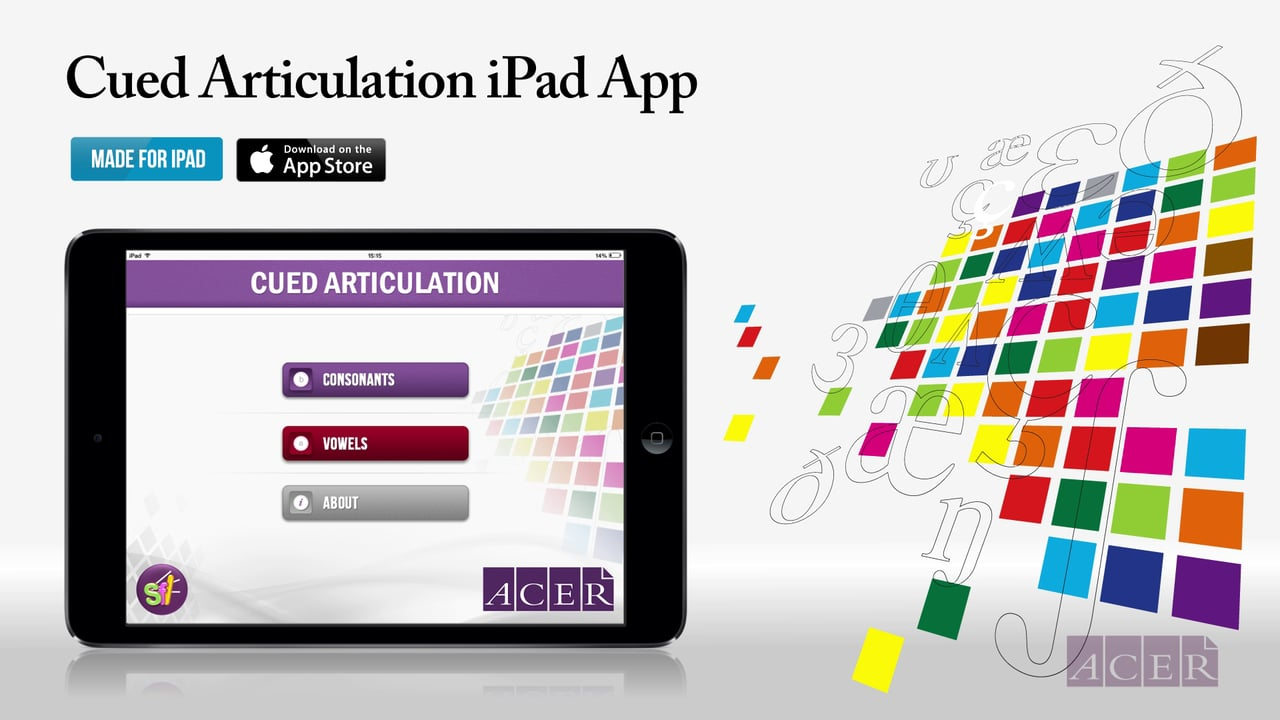 Cued Articulation iPad App
