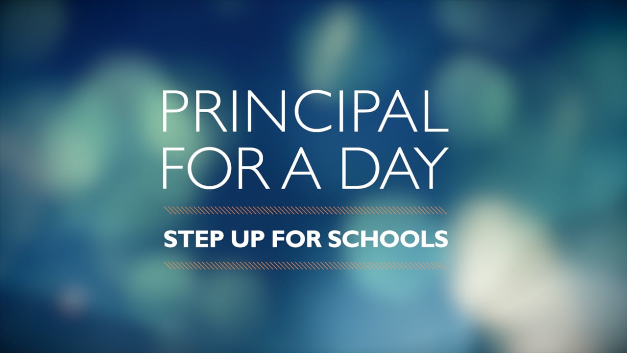 Principal for a Day 2014