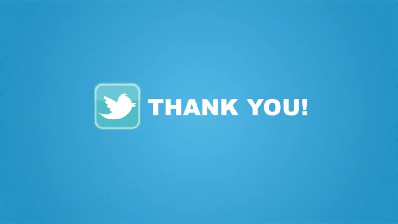10,000 Twitter Followers – Thank you