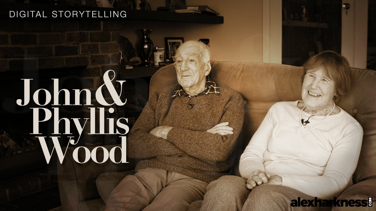 Digital Storytelling – John & Phyllis Wood