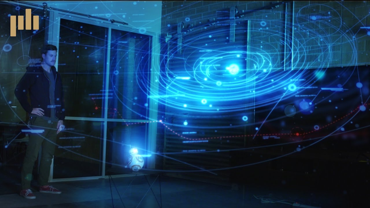 Star Wars Inspired Hologram