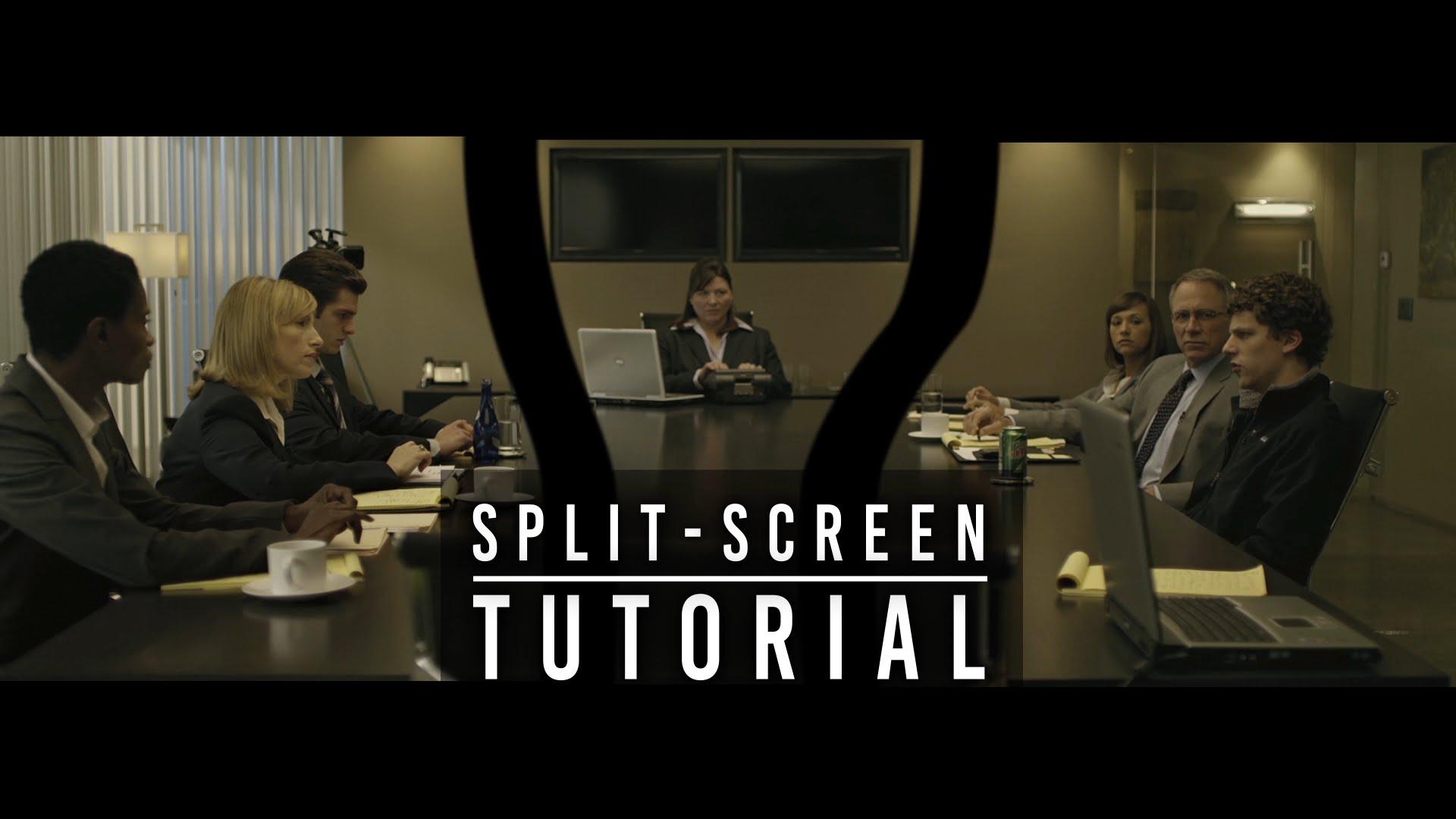 Invisible Split Screen technique – David Fincher Technique