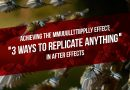 Replicate Anything in After Effects