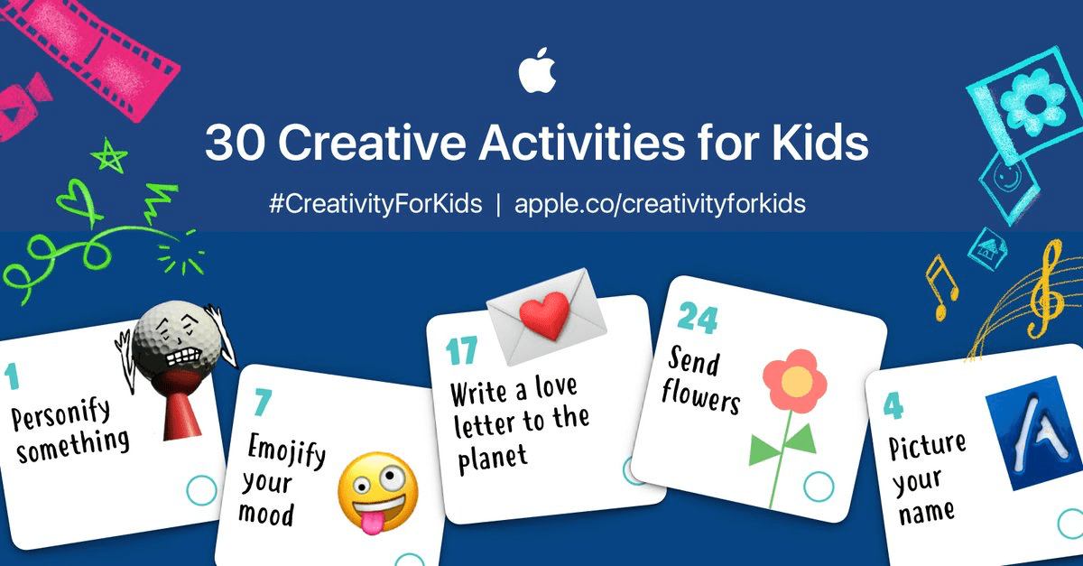 Creative Activities for Kids – Apple Education – 9to5Mac